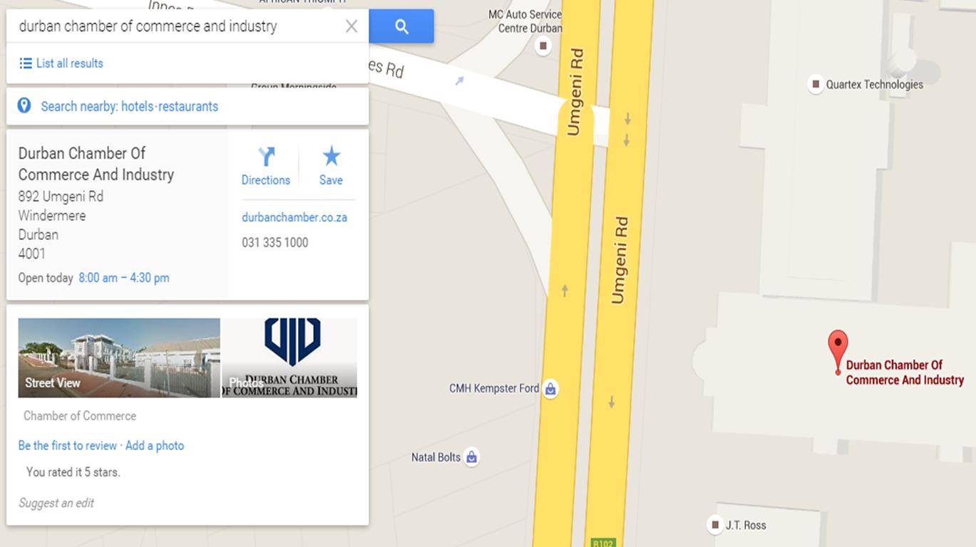 Google Map Listing – Verified | Shop Digital South Africa on